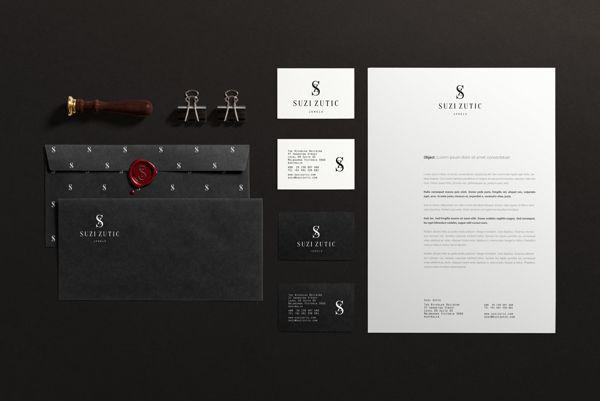 Logo // Suzi Zutic // Jewels on Behance