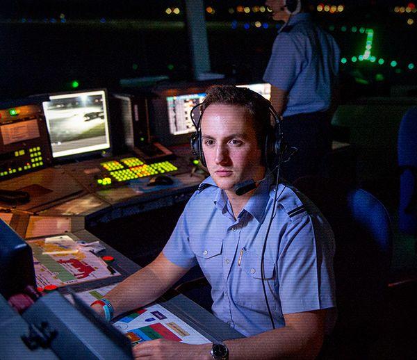 Operações aéreas apoiar - Controle de tráfego aéreo Diretor