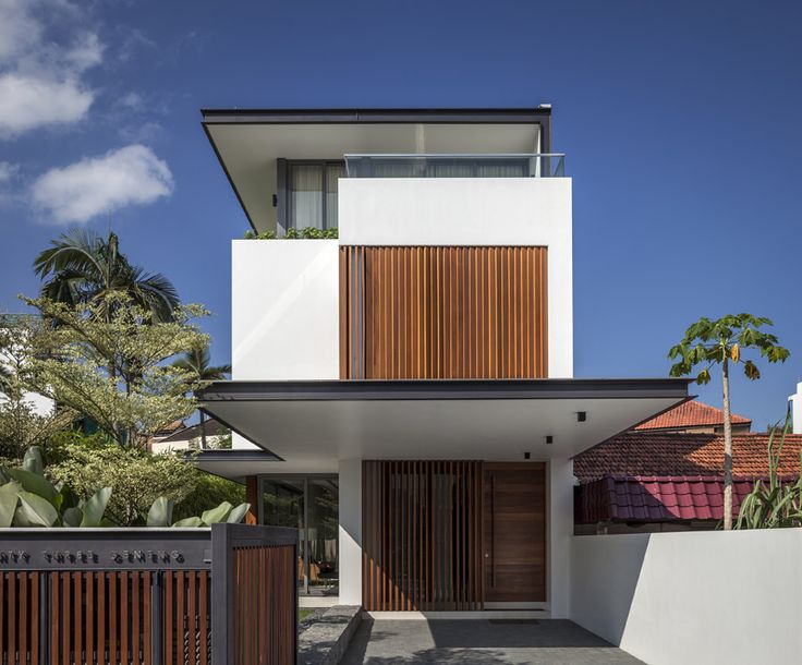Sunny side house wallflower architecture design award winning singapore architects