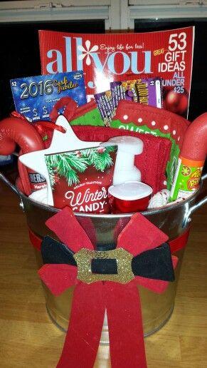 Santa Gift | Gift Ideas | Pinterest | Secret Santa Gifts, Secret Santa ...