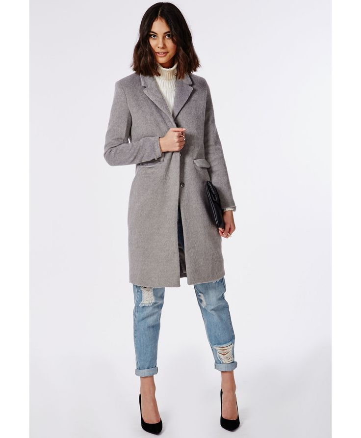 Tailored Boyfriend Coat April 2017
