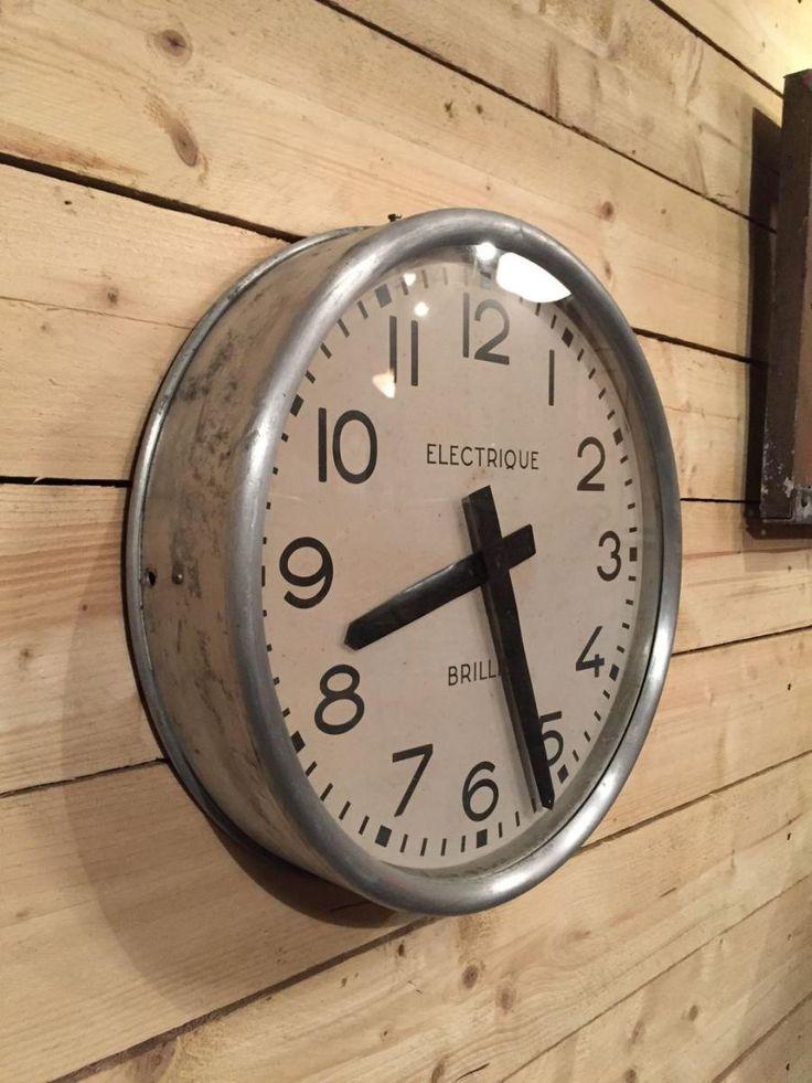 Best 25 Industrial wall clocks ideas on Pinterest