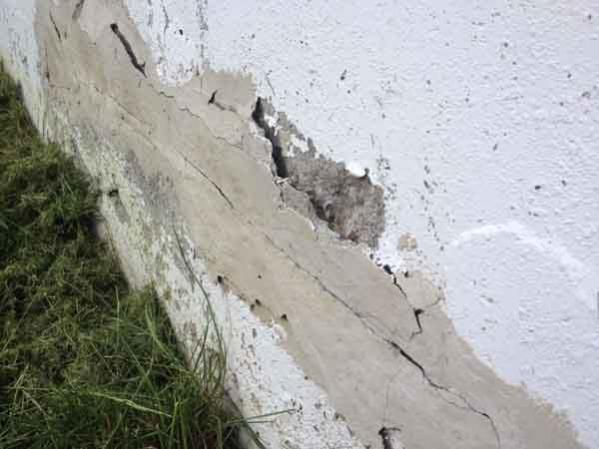Patch Holes In Concrete Wall In 2020 Cement Walls Concrete Wall Concrete Bricks