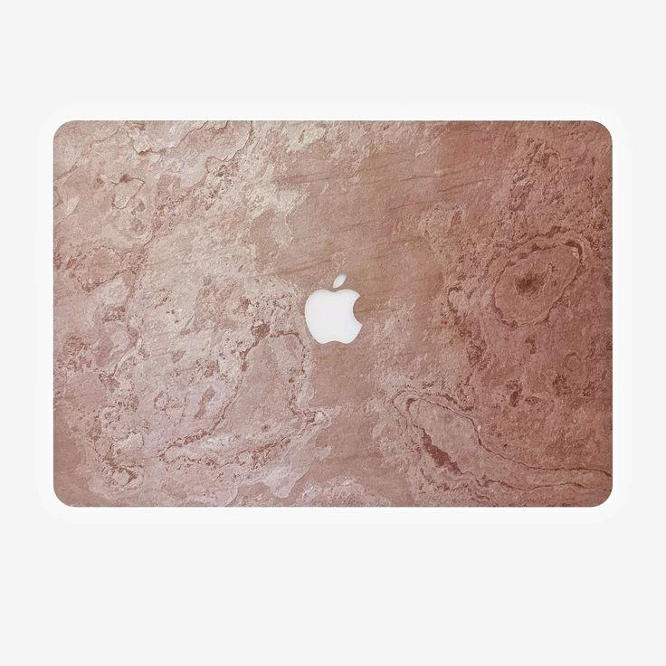 Rosso Real Stone Cover for Macbook | Pink Natural Sticker, Decal, Case