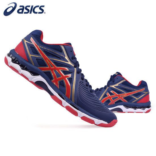 ASICS GEL-Netburner Ballistic MT Men's Badminton Volleyball Shoes B508Y-4923
