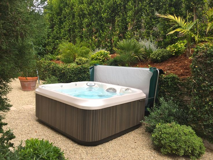 Garden Retreat Includes A Jacuzzi J325 Spa. Www.gordonandgrant.com