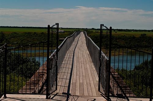 """""""Walking Bridge""""  Outlook, Saskatchewan Canada"""