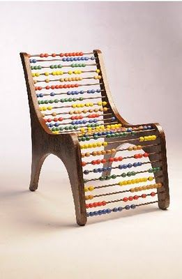 "Love this ""count on me"" chair! {by Eva Korae}"