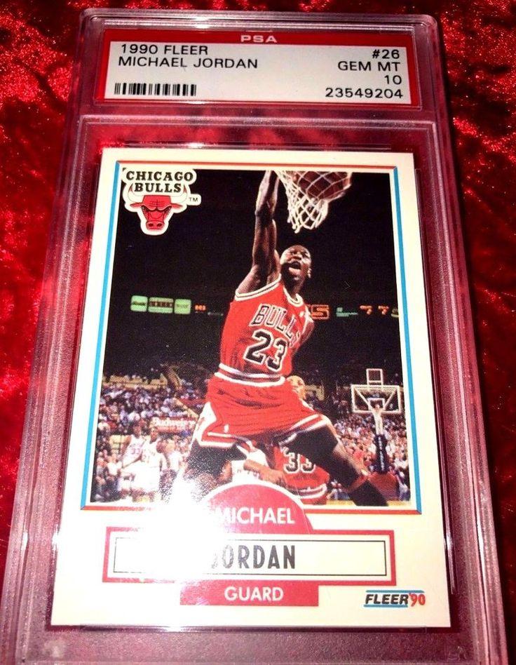 1990 fleer 26 michael jordan a top 25 jordan card rare