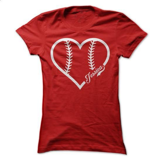 Jessica Baseball Love - #kids #band t shirts. PURCHASE NOW =>…