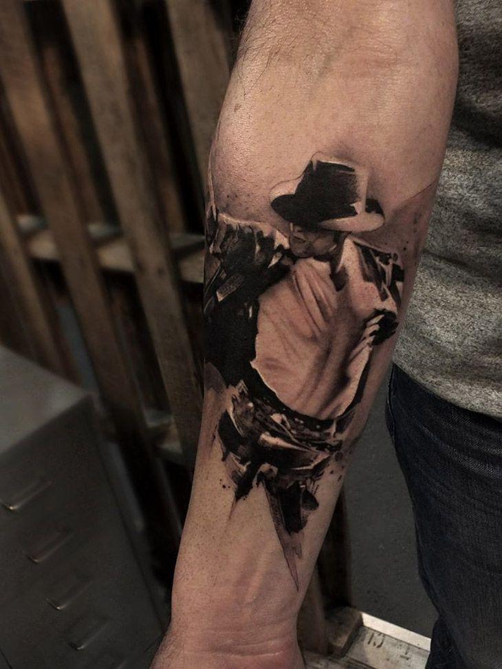 Michael Jackson Tattoo http://tattooideas247.com/michael-jackson-tattoo/