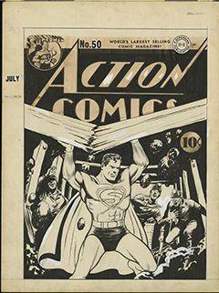 Art Ludique - Le Musée - L'Art de DC – L'Aube des Super-Héros