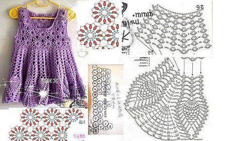 patrón de vestido de niña