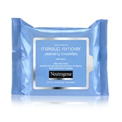 Neutrogena makeup remover wipes. These are the best makeup remover wipes ever. They smell good, are super soft, and always take off all my makeup. They even are slightly moisturizing.
