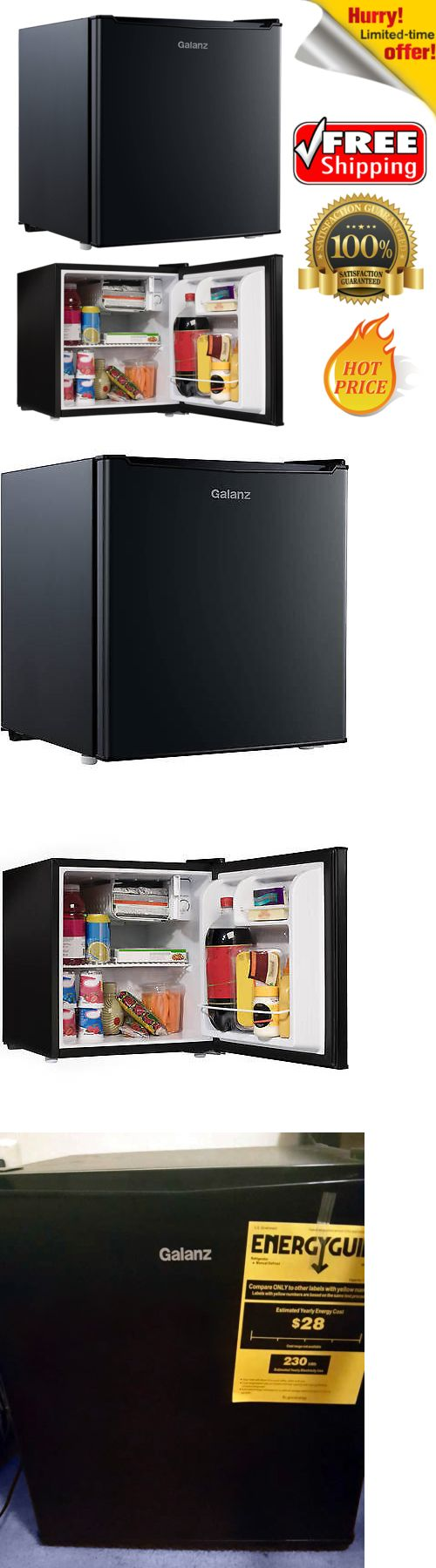 Mini Fridges 71262: Compact Mini Dorm Small Fridge Refrigerator 1.7 Cu Ft Cooler Office Party Beer -> BUY IT NOW ONLY: $75.39 on eBay!