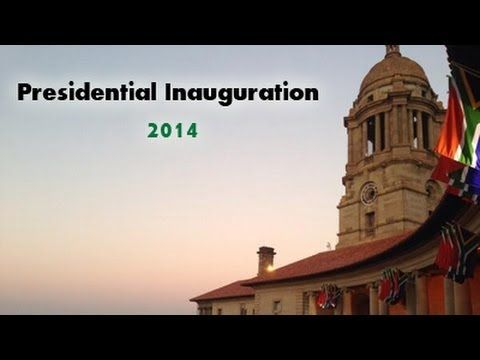 Presidential Inauguration of Jacob Zuma at the Nelson Mandela Amphitheater at the Union Buildings in Pretoria. The President will take the Oath of Office before signing the swearing-in certificate.