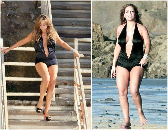 Mariah Carey`s body measurements