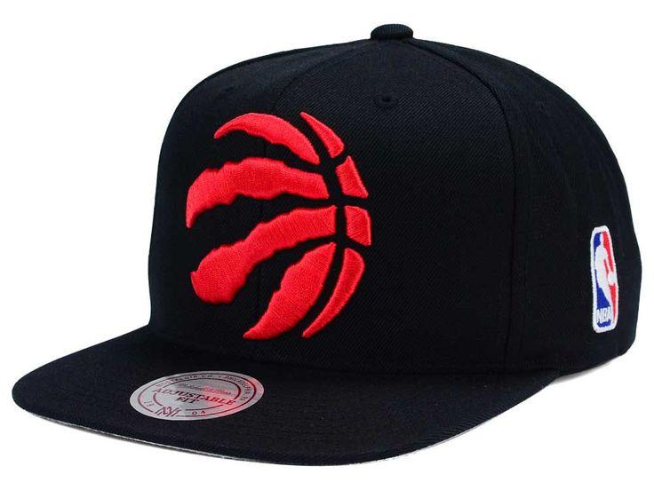 Toronto Raptors Mitchell and Ness NBA XL Logo Snapback Cap