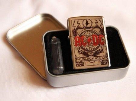 AC/DC, Black Ice öngyújtó