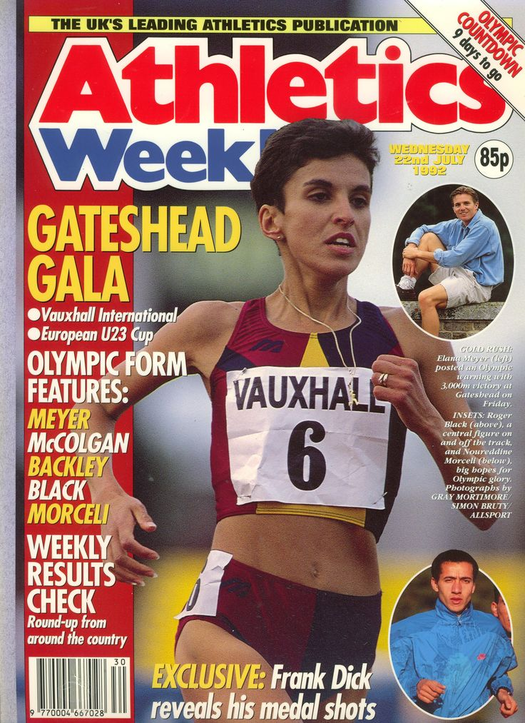 Athletics Weekly July 1992