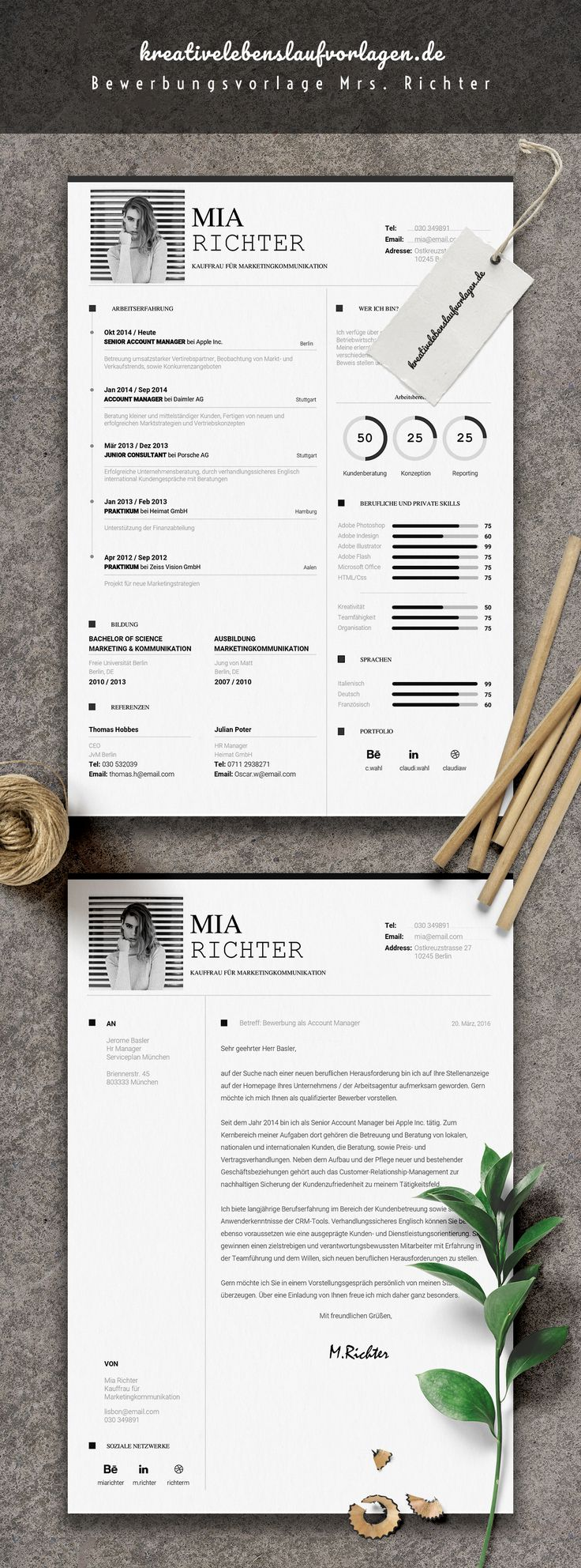 1483 best Резюме images on Pinterest | Cv template, Resume templates ...