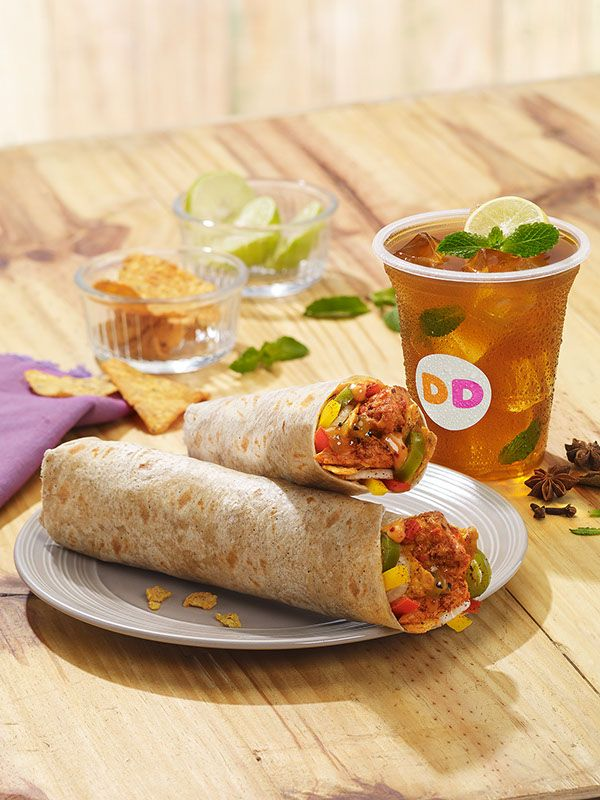 Dunkin' Donuts Tough Guy Burgers and Wraps on Behance