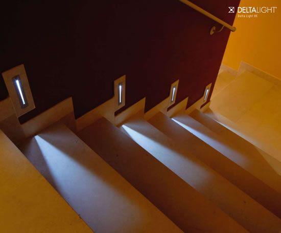 Lépcső megvilágytás