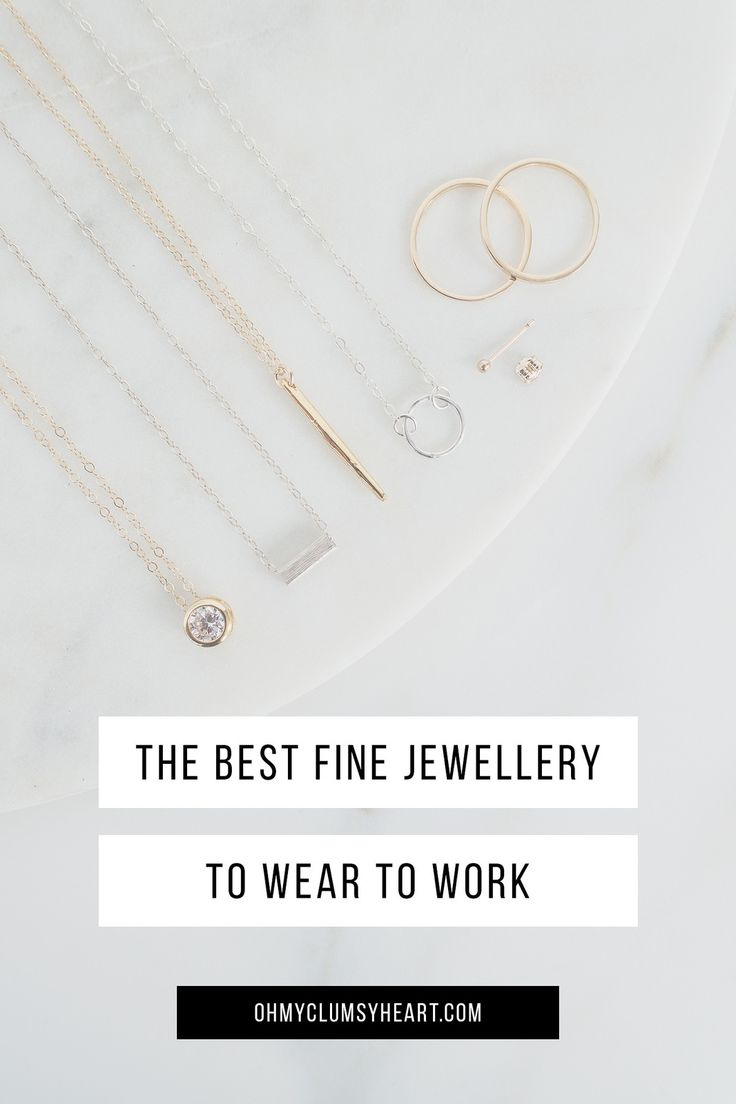 Styling Tips For Wearing Jewellery At Work