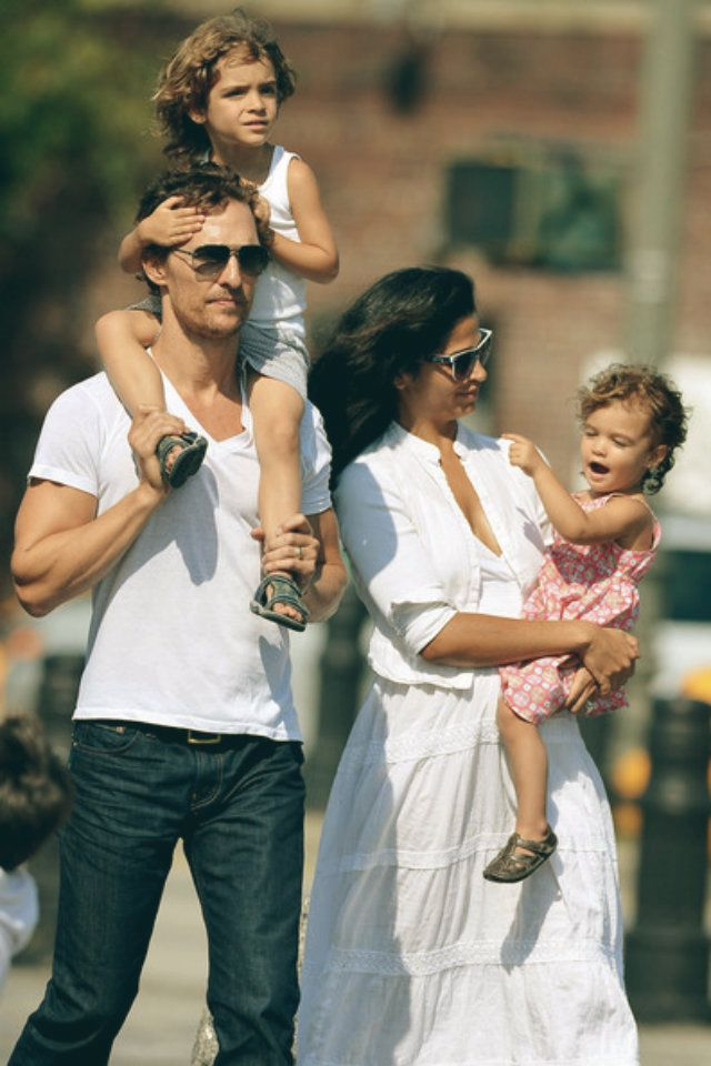 matthew mcconaughey and camila alves kids