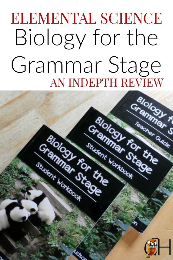 An indepth review of the Elemental Science Biology for the Grammar Stage curriculum by Classically Homeschooling.