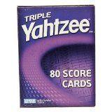 Triple Yahtzee Score Pads, Free Triple Yahtzee Score Sheets