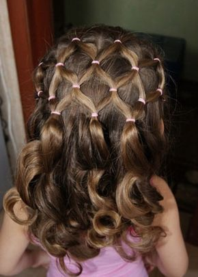 Little girl braided hairstyles for weddings by tira18