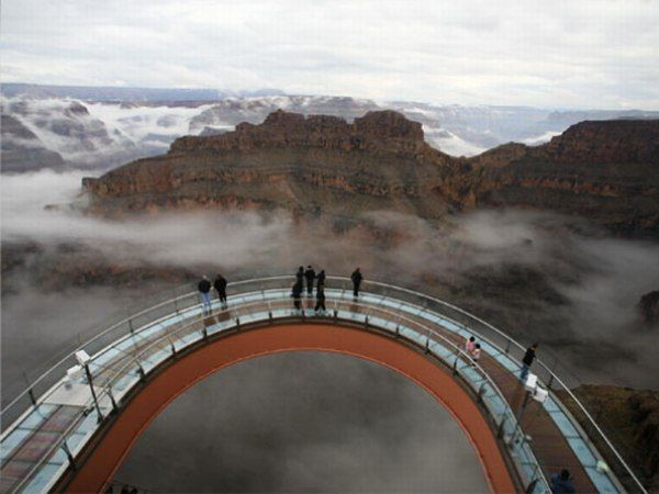 """Walk the Skies"": Grand Canyon Skywalk... this would be a great trip and would love to visit Casa Grande, Arizona... we have the same last name!"