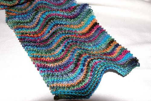 Ravelry: Kary's Chevron Scarf (Archived) pattern by Kary Jarred