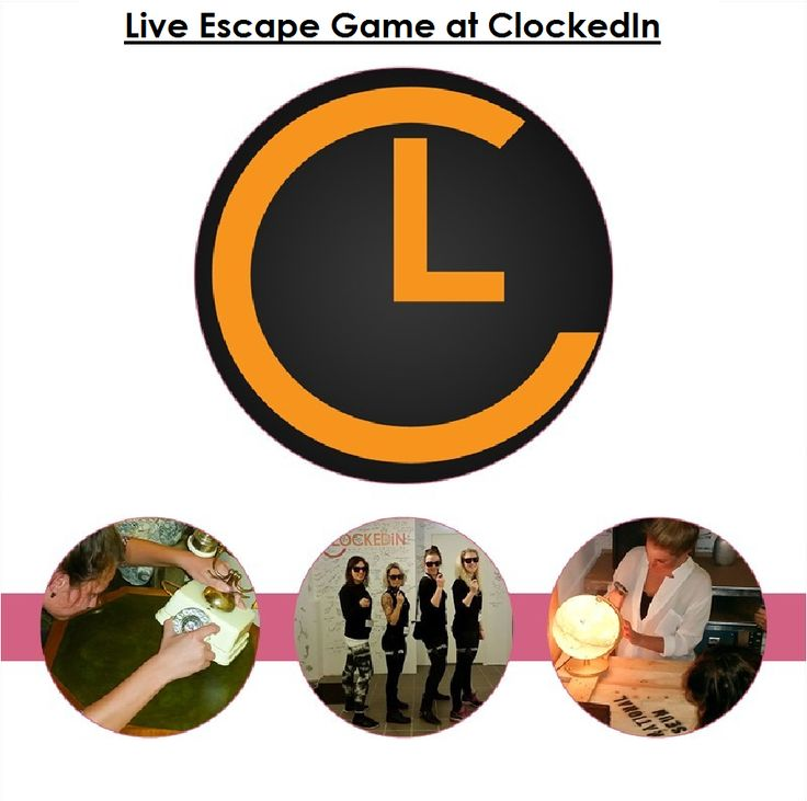 Make your weekend a fun experience with entertainment and brainstorming #LiveEscapeGame . came to www.clockedin.dk with your friends.