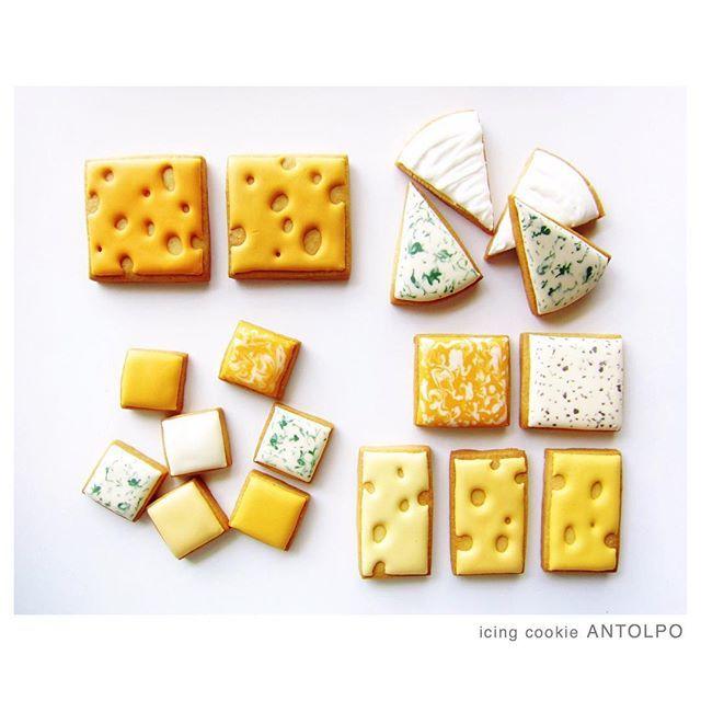 #mulpix cheeseアイシングクッキー #icingcookies #アイシングクッキー #クッキー #cookies #decoratedcookies #sugarcookies #sweets