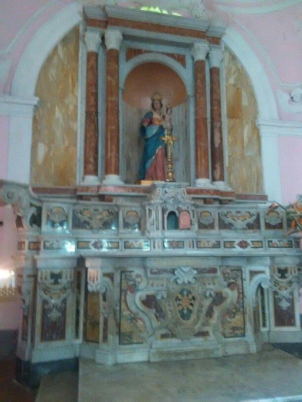 Chiesa di Cascano di Sessa A. Interni