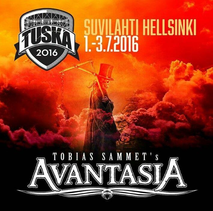 Tobias Sammet's Avantasia is coming to #Tuska Festival in 2016