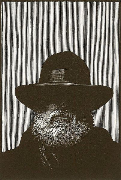 Barry Moser self-portrait