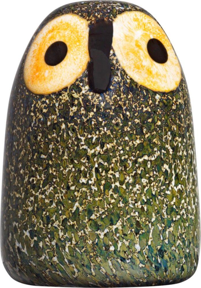 Iittala - Birds by Toikka Little barn owl 45 x 65 mm - Iittala.com