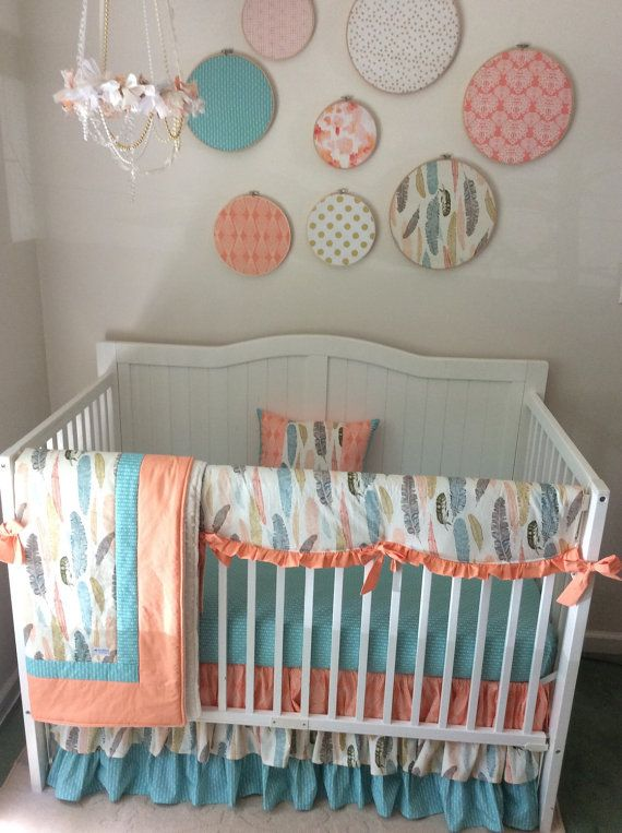 22 best Navy mint and grey baby bedding images on ...