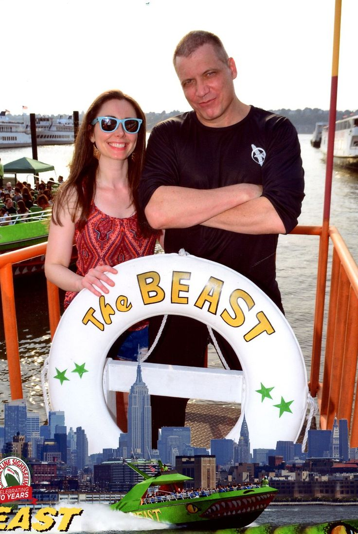 Actor Holt McCallany and his girlfriend Nicole Wilson (c) 2015 The Beast