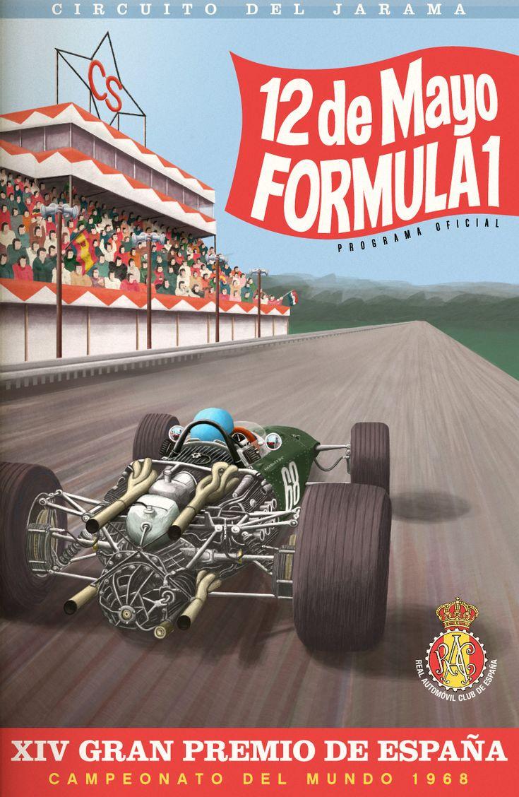 F1 Circuito de Jarama, Gran Premio de España - 1968