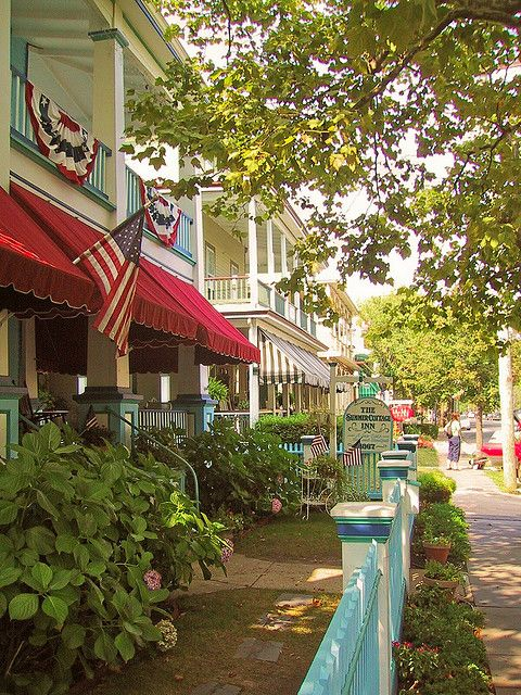 Cape May is a city at the southern tip of Cape May Peninsula in Cape May County, New Jersey, where the Delaware Bay meets the Atlantic Ocean. With a rich history, award-winning beaches, designation as a top birdwatching location, and many examples of Victorian architecture, Cape May is a seaside resort drawing visitors from around the world.
