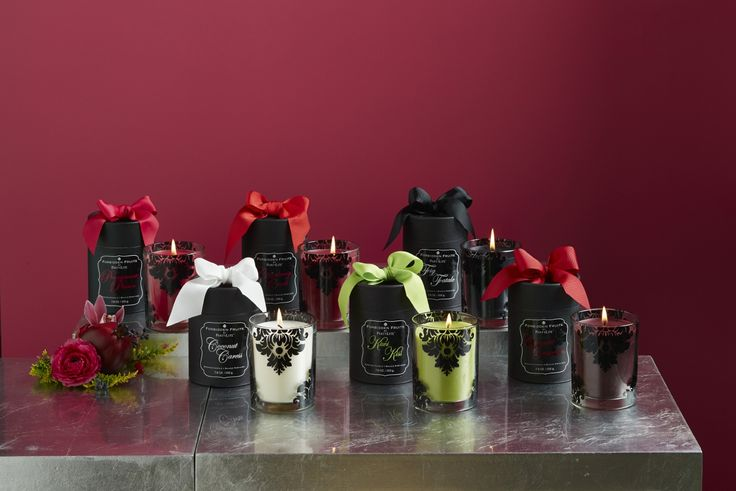 Forbidden Fruits fragrances available in Coconut Caress, Kiwi Kiss, Pomegranate Passion, Fig Fatale, Cranberry Crush and Tangerine Tease.... Tempting, aren't they!