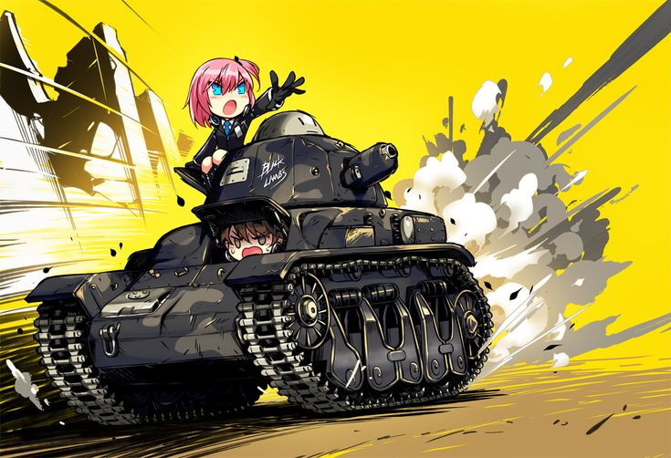 aqua_eyes blush boots brown_eyes brown_hair chibi closers combat_vehicle gloves headphones male pink_hair ponytail seha seulbi_lee short_hair suit tagme_(artist) tie uniform