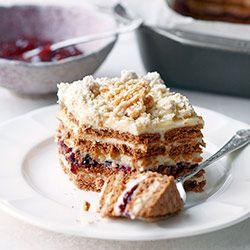 Ciasto chałwowe bez pieczenia | Kwestia Smaku