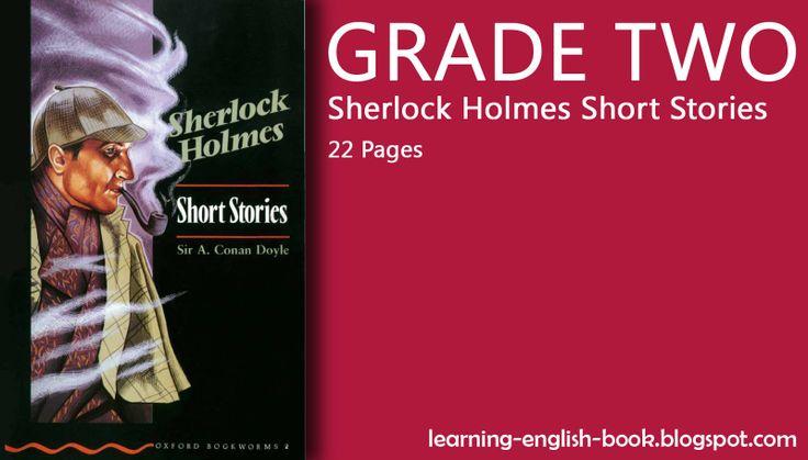 http://learning-english-book.blogspot.com/2014/05/learning-english-sherlock-holmes-short-stories-grade-one.html