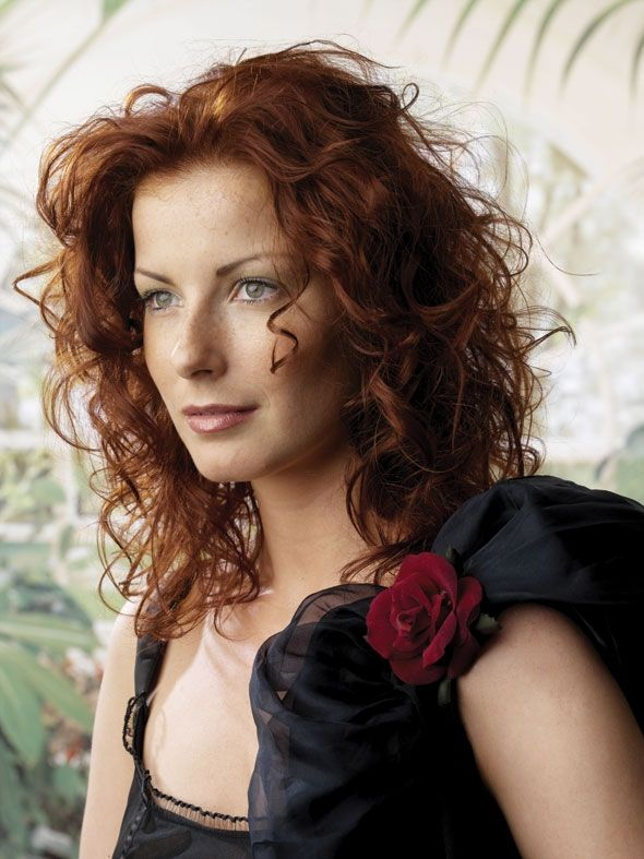 Curly Red Hair CUT.... could I pull this off? or is my hair too thick?