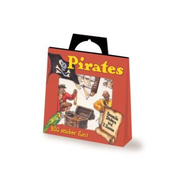 Sticker Activity Pirates - Bobangles #PeaceableKingdom #pirate #stickers #kids